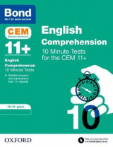 Omslag - BOND 11+: CEM English Comprehension 10 Minute Tests:
