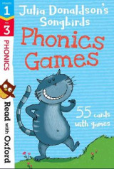 Omslag - Read with Oxford: Stages 1-3: Julia Donaldson's Songbirds: Phonics Games Flashcards