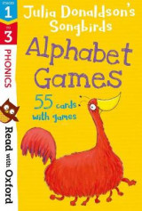 Omslag - Read with Oxford: Stages 1-3: Julia Donaldson's Songbirds: Alphabet Games Flashcards