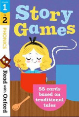 Omslag - Read with Oxford: Stages 1-2: Phonics Story Games Flashcards