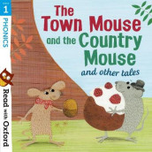 Read with Oxford: Stage 1: Phonics: The Town Mouse and Country Mouse and Other Tales av Alison Hawes, Alex Lane og Gill Munton (Heftet)