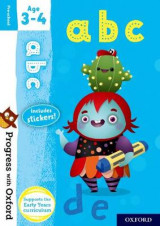 Omslag - Progress with Oxford: abc Age 3-4