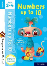 Omslag - Progress with Oxford: Numbers up to 10 Age 3-4
