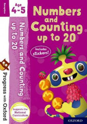 Progress with Oxford: Numbers and Counting up to 20 Age 4-5 av Paul Hodge (Blandet mediaprodukt)
