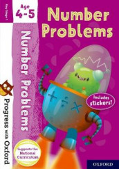 Progress with Oxford: Number Problems Age 4-5 av Paul Hodge (Blandet mediaprodukt)