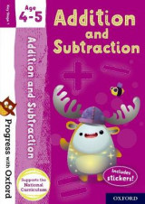 Omslag - Progress with Oxford: Addition and Subtraction Age 4-5