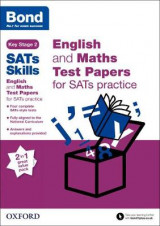 Omslag - Bond SATs Skills: English and Maths Test Paper Pack for SATs Practice