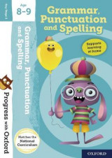 Omslag - Progress with Oxford:: Grammar, Punctuation and Spelling Age 8-9
