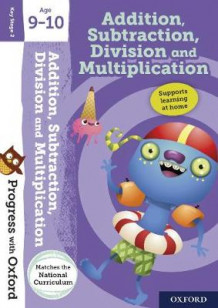 Progress with Oxford:: Addition, Subtraction, Multiplication and Division Age 9-10 av Giles Clare (Blandet mediaprodukt)