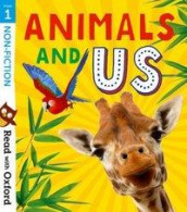 Read with Oxford: Stage 1: Non-fiction: Animals and Us av Rob Alcraft, Suzannah Beddoes, Anna Claybourne, Alison Hawes, Teresa Heapy og Karra McFarlane (Heftet)