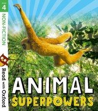 Read with Oxford: Stage 4: Non-fiction: Animal Superpowers av Isabel Thomas, Claire Llewellyn, Anita Ganeri, Heather Hammonds og Brita GranstrAm (Heftet)