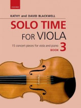 Omslag - Solo Time for Viola Book 3