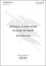 Omslag - Alleluya. A new work is come on hand