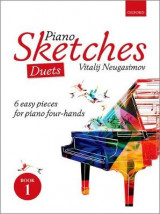 Omslag - Piano Sketches Duets Book 1