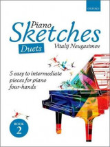 Omslag - Piano Sketches Duets Book 2