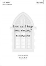 Omslag - How can I keep from singing?