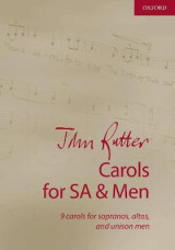 Omslag - John Rutter Carols for SA and Men