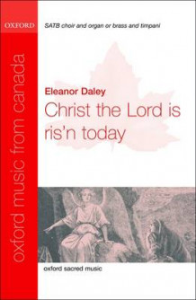 Christ the Lord is Ris'n Today: Vocal Score (Notetrykk)