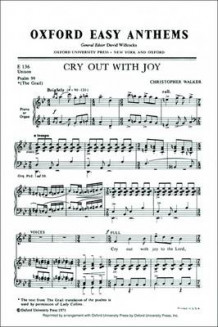 Cry Out with Joy (Notetrykk)