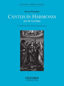 Cantus in harmonia (to St Cecilia) (Notetrykk)