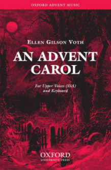 An Advent Carol: SSA Vocal Score (Notetrykk)