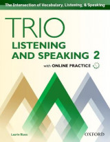 Omslag - Trio Listening and Speaking: Level 2: Student Book Pack with Online Practice