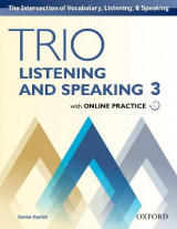 Omslag - Trio Listening and Speaking: Level 3: Student Book Pack with Online Practice