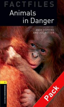 Oxford Bookworms Library Factfiles: Level 1: Animals in Danger av Andy Hopkins og Joc Ptter (Blandet mediaprodukt)