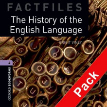 The Oxford Bookworms Library Factfiles: Level 4: the History of the English Language Audio CD Pack: 1400 Headwords av Brigit Viney (Blandet mediaprodukt)