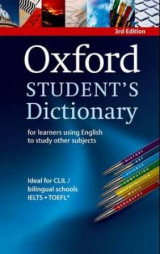 Omslag - Oxford students dictionary