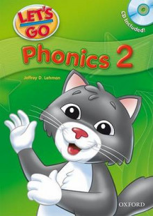 Let's Go: 2: Phonics Book with Audio CD Pack av Jeffrey D. Lehman (Blandet mediaprodukt)