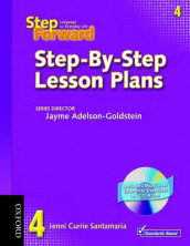 Step Forward 4: Step-By-Step Lesson Plans with Multilevel Grammar Exercises CD-ROM av Barbara Denman, Jill Korey O'Sullivan, Chris Mahdesian, Christy Newman, Janet Podnecky, Renata Russo, Jenni Currie Santamaria, Jane Spigarelli og Sandy Wagner (Blandet mediaprodukt)