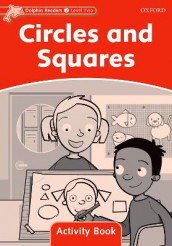 Dolphin Readers Level 2: Circles and Squares Activity Book av Craig Wright (Heftet)