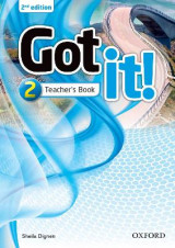 Omslag - Got it!: Level 2: Teacher's Book