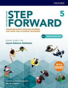 Step Forward: Level 5: Student Book with Online Practice av Jenni Currie Santamaria og Jayme Adelson-Goldstein (Blandet mediaprodukt)