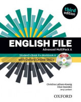Omslag - English File: Advanced: MultiPACK A with Online Skills