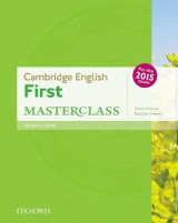 Omslag - Cambridge English First Masterclass: Student's Book: Cambridge English First Masterclass Student Book