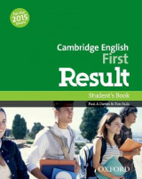 Omslag - Cambridge English First Result: Student's Book