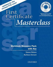 First Certificate Masterclass:: Workbook Resource Pack with Key av Simon Haines og Barbara Stewart (Blandet mediaprodukt)