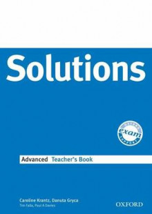 Solutions Advanced: Teachers Book av Caroline Krantz, Danuta Gryca, Tim Falla, Paul A. Davies og Sue Hobbs (Heftet)