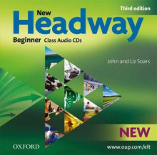 New Headway: Beginner Third Edition: Class Audio CDs (2) av John Soars og Liz Soars (Lydbok-CD)