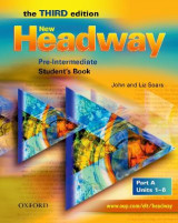 Omslag - New Headway: Pre-Intermediate: Student's Book A