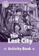 Omslag - Oxford Read and Imagine: Level 4:: The Lost City activity book