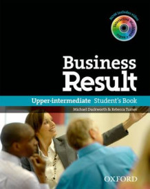 Business Result: Upper-Intermediate: Student's Book with DVD-ROM and Online Workbook Pack (Blandet mediaprodukt)