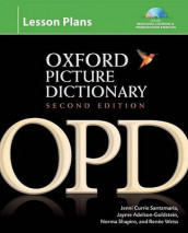 Oxford Picture Dictionary Second Edition: Lesson Plans av Jayme Adelson-Goldstein, Jenni Currie Santamaria, Norma Shapiro og Renee Weiss (Blandet mediaprodukt)