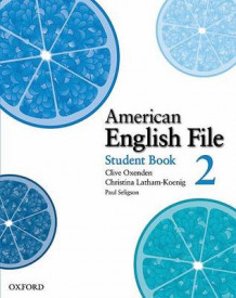 American English File: Level 2: Student Book with Online Skills Practice: 2 av Clive Oxenden, Christina Latham-Koenig og Paul Seligson (Heftet)