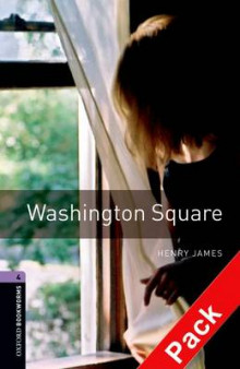 Oxford Bookworms Library: Level 4: Washington Square Audio CD Pack: 1400 Headwords av Henry James (Blandet mediaprodukt)