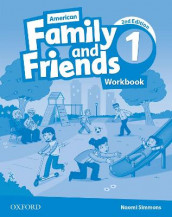 American Family and Friends: Level One: Workbook av Jenny Quintana, Naomi Simmons og Tamzin Thompson (Heftet)