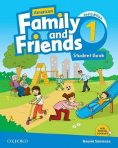 American Family and Friends: Level One: Student Book av Jenny Quintana, Naomi Simmons og Tamzin Thompson (Heftet)