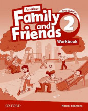 American Family and Friends: Level Two: Workbook av Jenny Quintana, Naomi Simmons og Tamzin Thompson (Heftet)